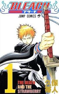 capa do manga de Bleach