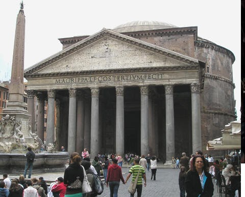 Utopische Modellen Renaissance Referentie Romeinse Gebouwen