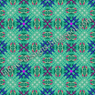 geometric textile patterns and designs