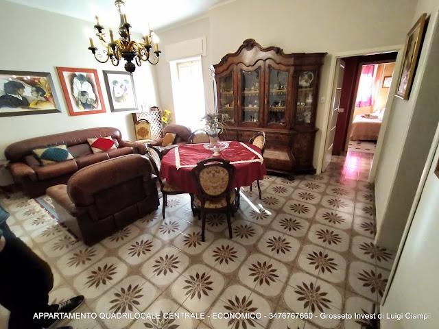 Immagine Soggiorno di appartamento su  Ximenes, Centro, Grosseto, Agenzia Immobiliare Grosseto Invest