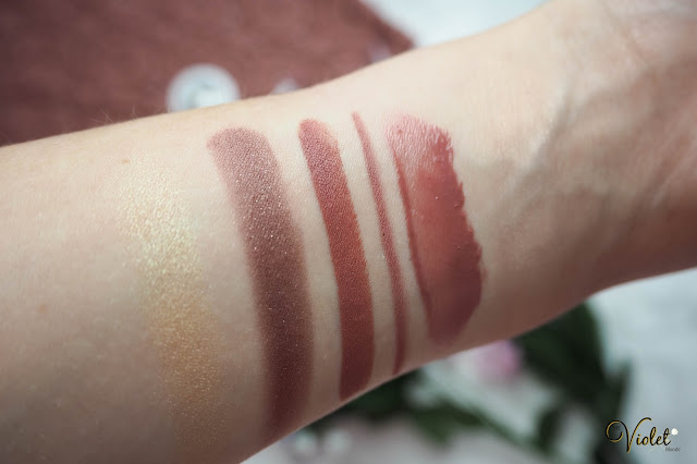 colourpop haul swatches