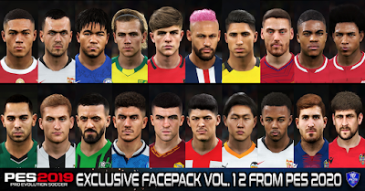 PES 2019 Exclusive Facepack Vol. 12 by Sofyan Andri