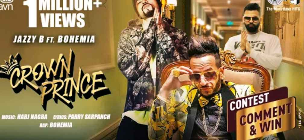 Crown Prince Punjabi song – Jazzy B x
