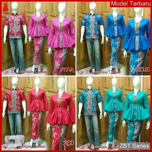 ZBT10809 Kemeja Batik Pria Jasmin Colour Tanah BMGShop