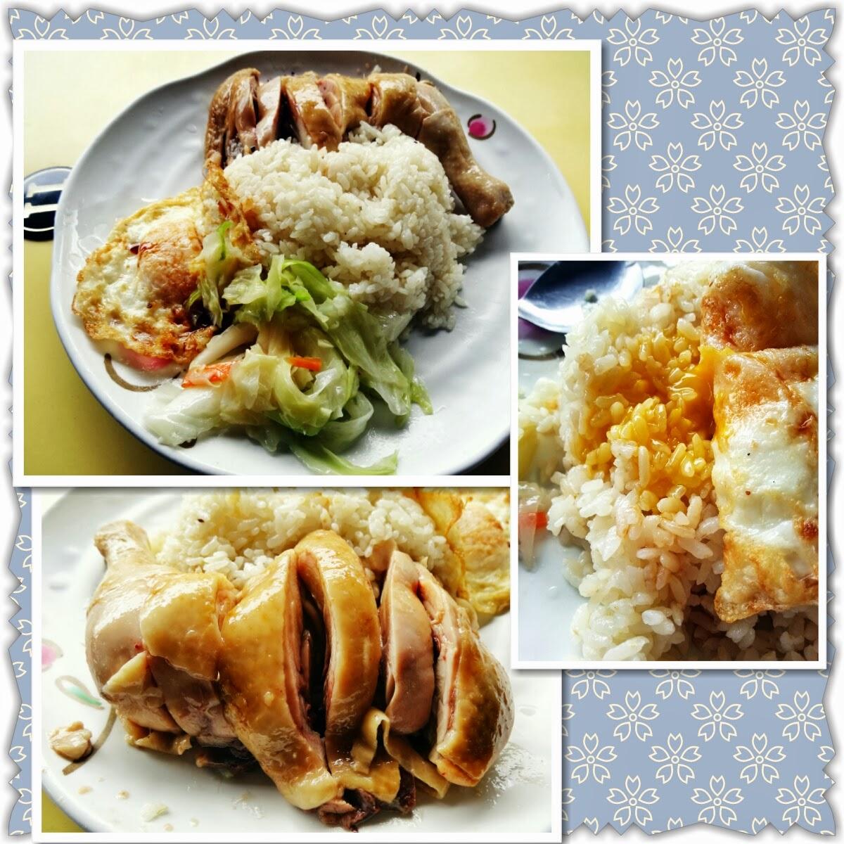 神月出雲-食況轉播: 食況轉播-新竹市-168新加坡美食-海南雞飯