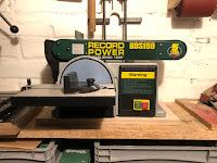 Die Record Power BDS 150 - eine große Hilfe in beim Schleifen