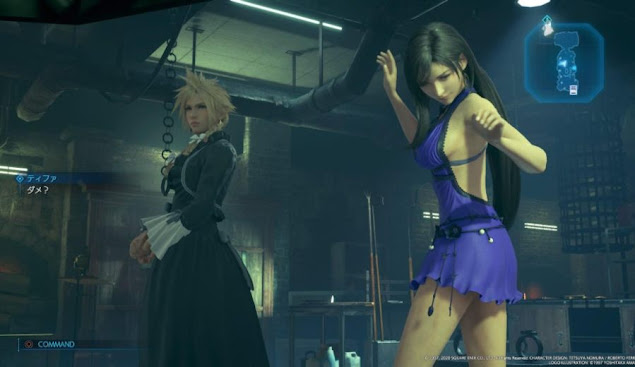 tifa dresses ff7 remake