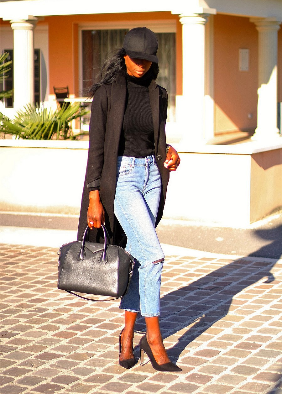 blog-assitan-mom-jeans-sac-givenchy-antigona-escarpins-asos-manteau-long