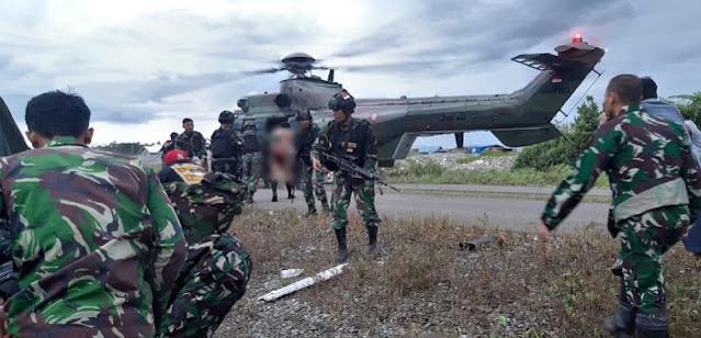 Bentrokan Senjata TNI vs KKB Pimpinan Egianus Kagoya, 3 Prajurit Kena Tembak