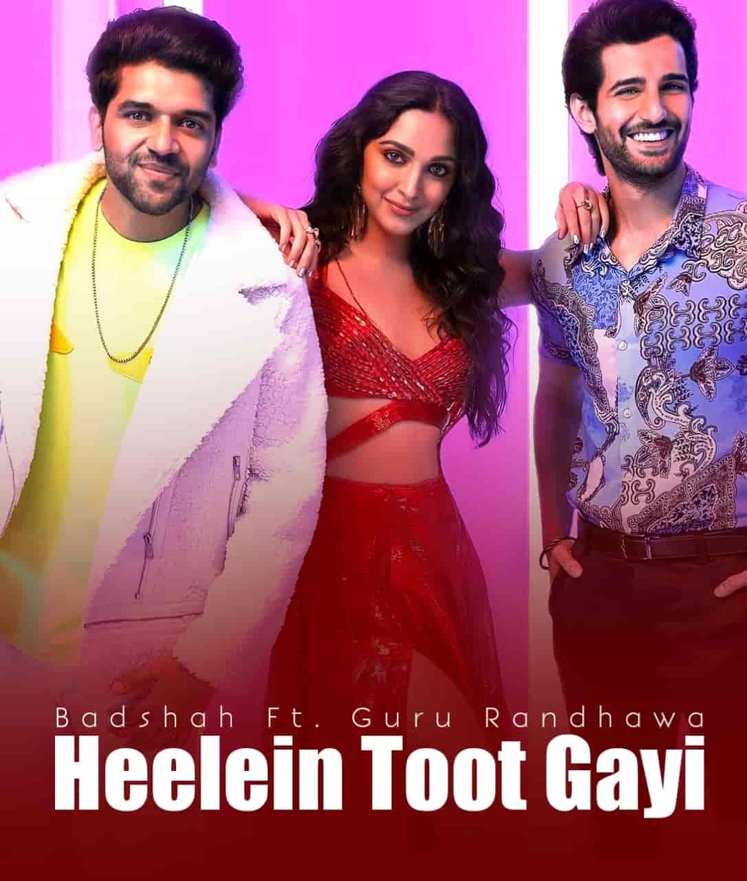 Heelein Toot Gayi Song Image Features Guru Randhawa, Kiara Advani and Badshah
