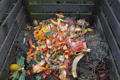 para el compostero podemos utilizar cualquier resto de materiales vegetales