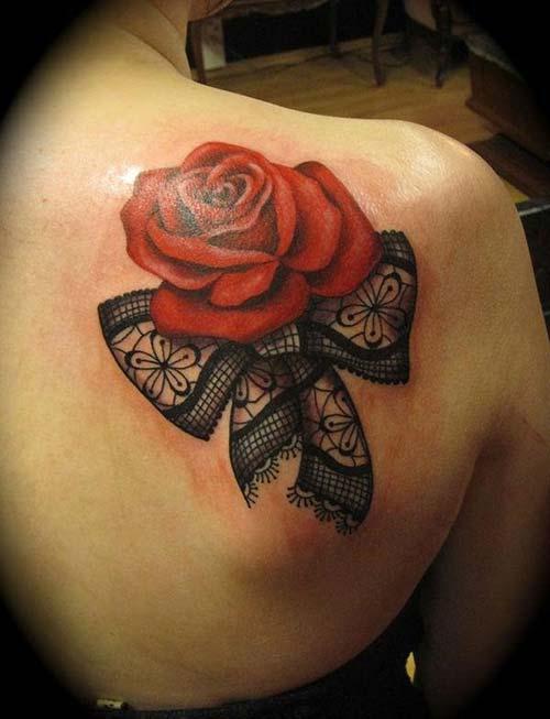dantel dövmeleri lace tattoos 9