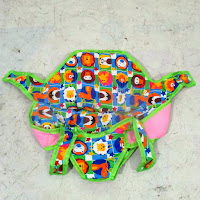 royal gajah mexico sepeda roda tiga ayunan bayi
