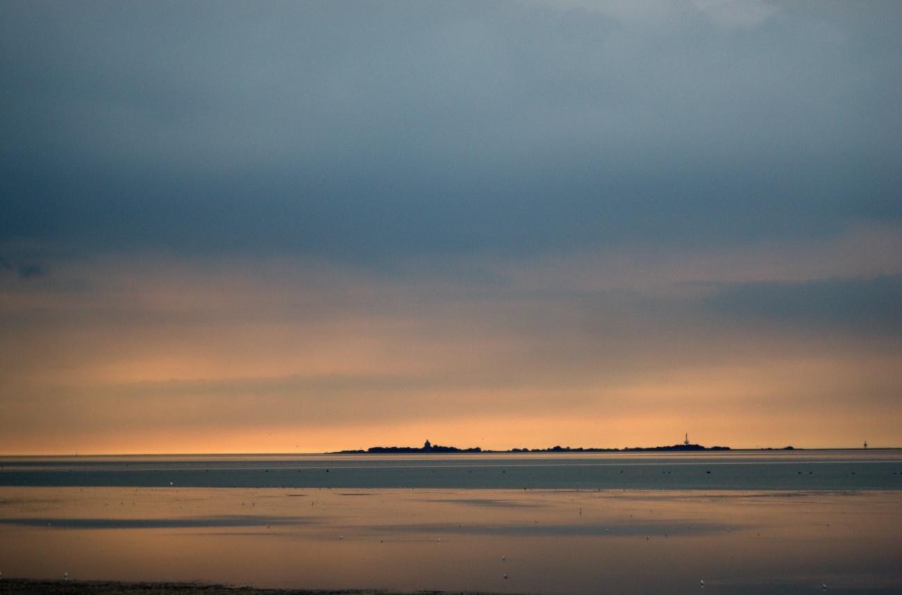 Cuxhaven #5 — Neuwerk im Sonnenuntergang