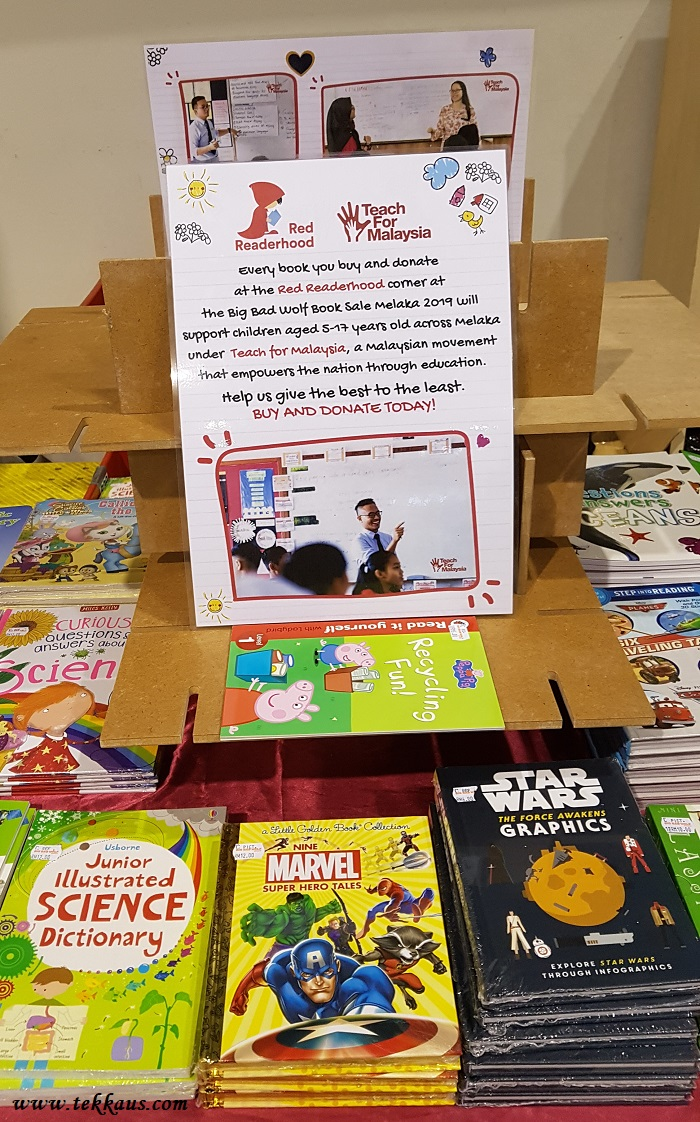 Red Readerhood Big Bad Wolf Donate A Book