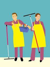Bersih – bersih rumah
