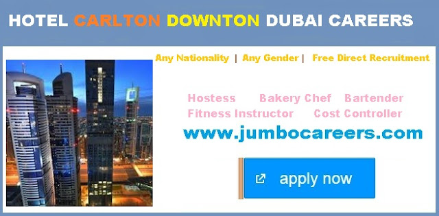 hotel management job in dubai may 2018, free visa hotel jobs dubai
