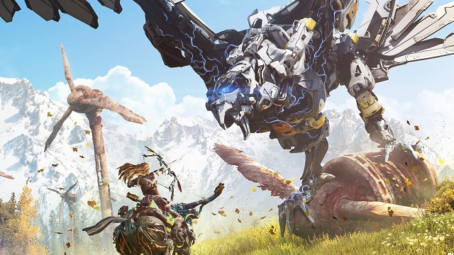 Horizon Zero Dawn/Sony Interactive Entertainment/Reprodução