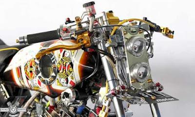 Modifikasi Motor RX King Mewah Dan Unik