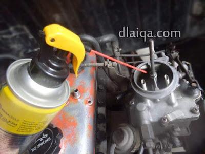 Cara Praktis Membersihkan Karburator Dengan Carb Cleaner