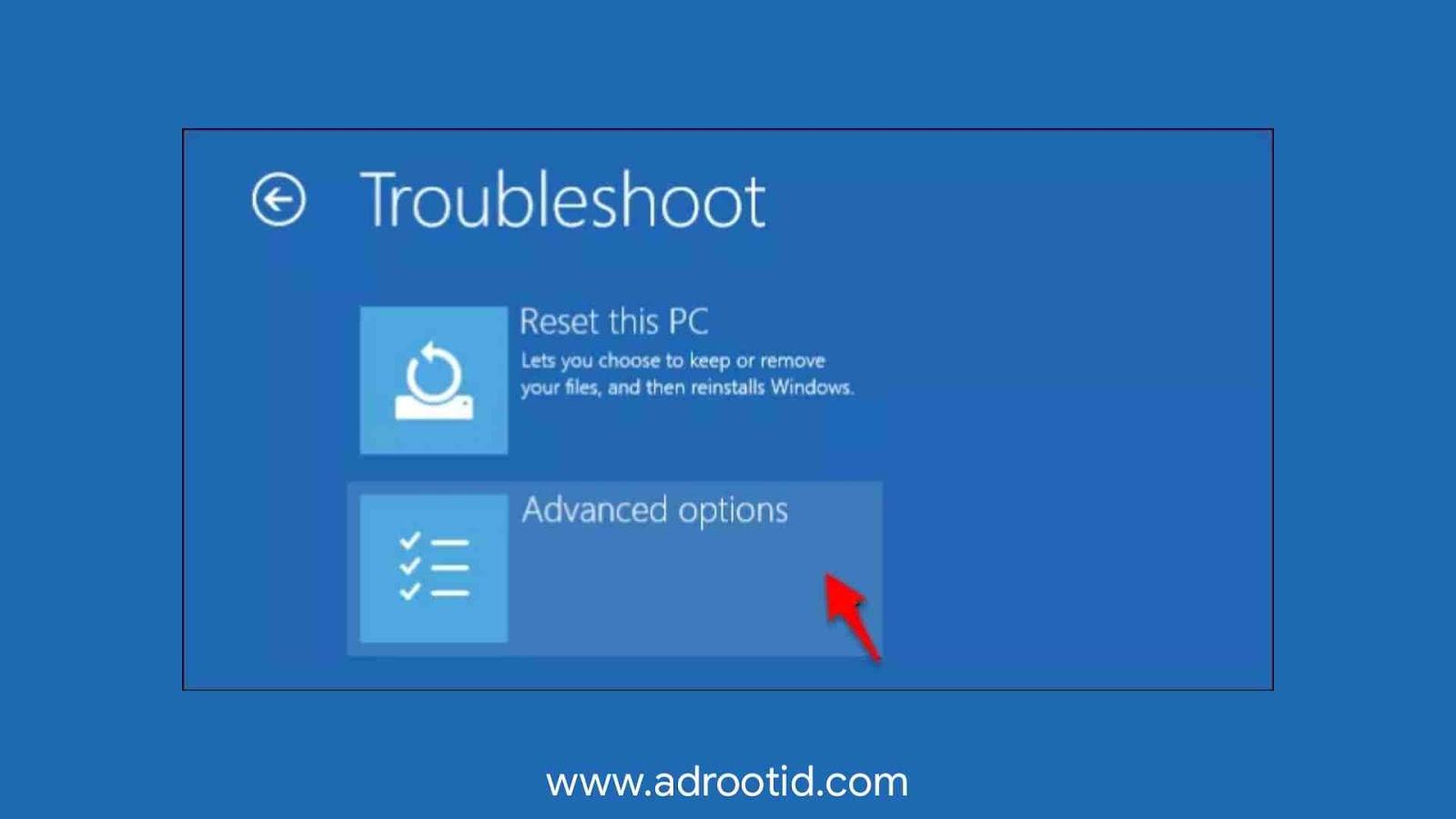 Cara Disable Windows Siganture Windows 10.1