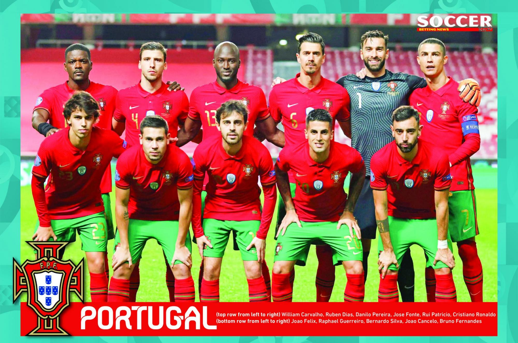 The 2016 Champions Portugal will be aiming to defend their crown