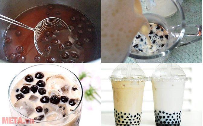 Cách làm trà sữa tại nhà đơn giản mà ngon như ngoài hàng