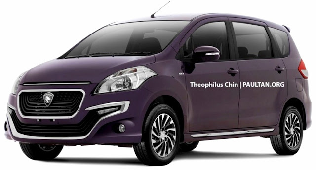 Model Baru Kereta  Proton-Suzuki