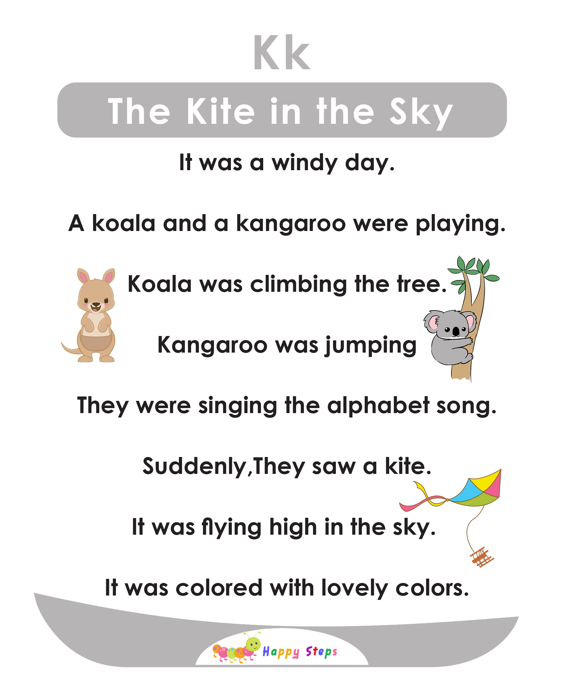 The Kite In The Sky Alphabet Stories