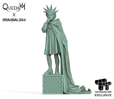San Diego Comic-Con 2021 Exclusive Brandalism Vinyl Figures by Queen M, BAIT & Toy Tokyo