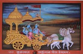 Bhagavad Gita Summary in English about 200 words
