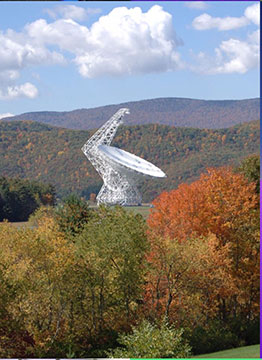 100 meter Green Bank Radio Telescope (Source: Green Bank Observatory NSF)
