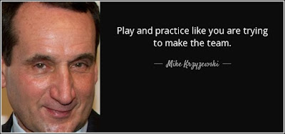 Practice Like You Play Quote