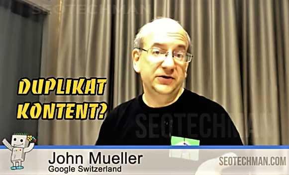Jhon Mueller dari Google: Konten Duplikat Bukanlah Faktor Peringkat Negatif