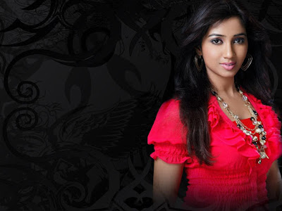 Shreya Ghoshal Singer FUll HD Wallpapers