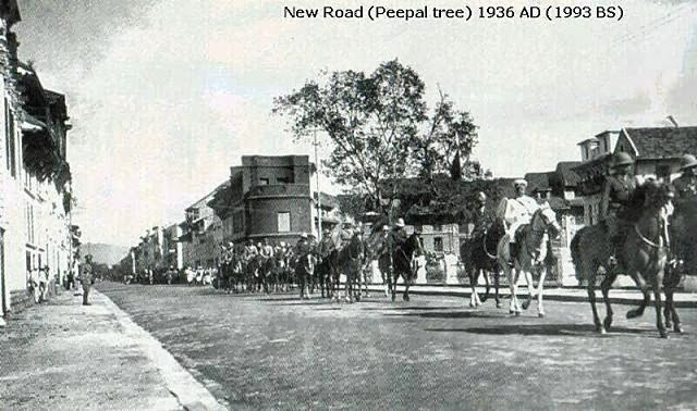 History+of+Nepal+ +Ancient+New+Road+in+Kathmandu
