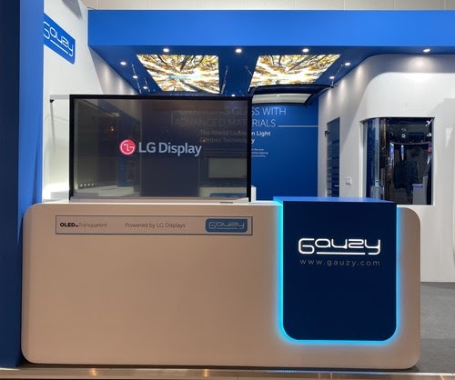 LG Display Showcases Transparent OLED at IAA 2021 in ...