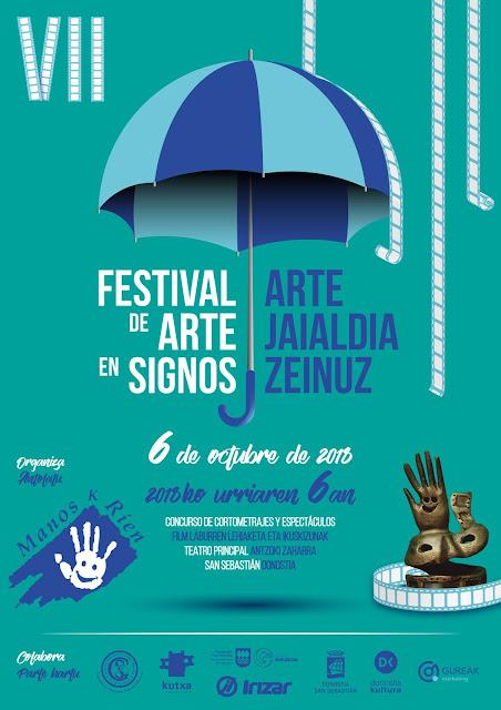 VII Festival de Arte en Signos - 6 octubre, San Sebastián VII%2BFestival%2BArte%2Ben%2BSignos%2B2018