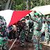 Dandim Cilacap Pimpin Upacara Pemakaman Militer Almarhum Lettu Inf Angga Pradipta Adhyaksa Putra