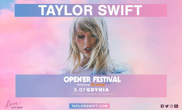 Taylor Swift headlinerką Open'er Festival 2020!