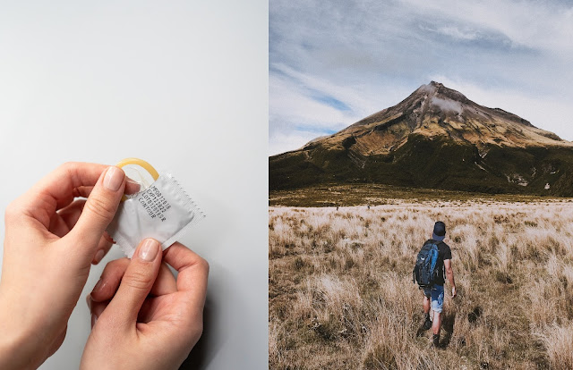 fungsi kondom untuk mendaki gunung