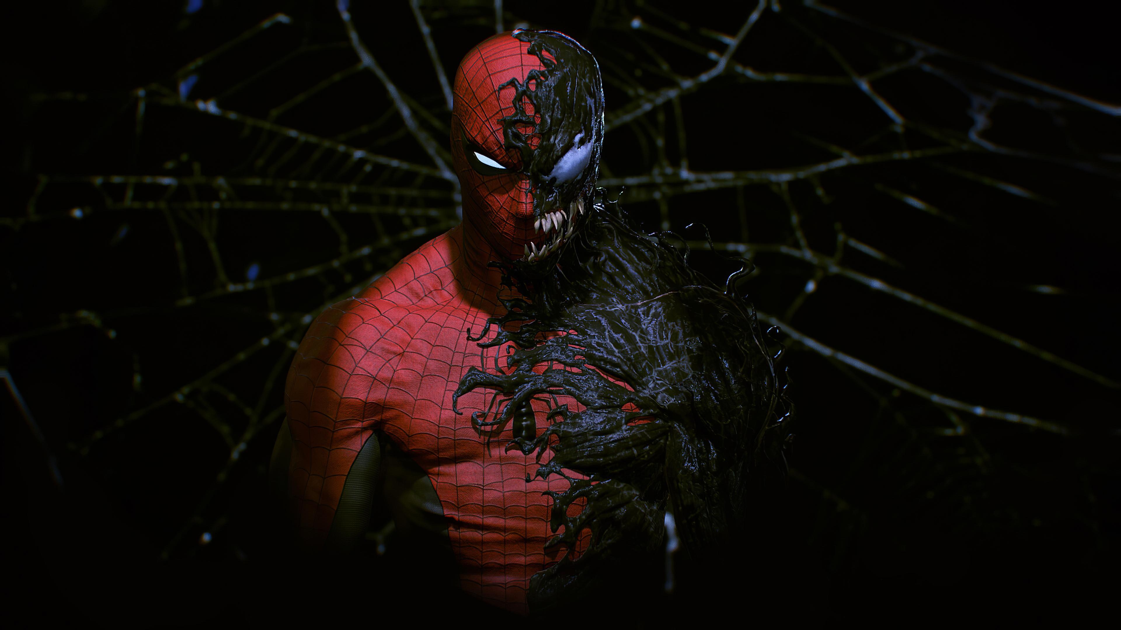Spider Man And Venom Pc Wallpaper 4k Heroscreen Cool Wallpapers