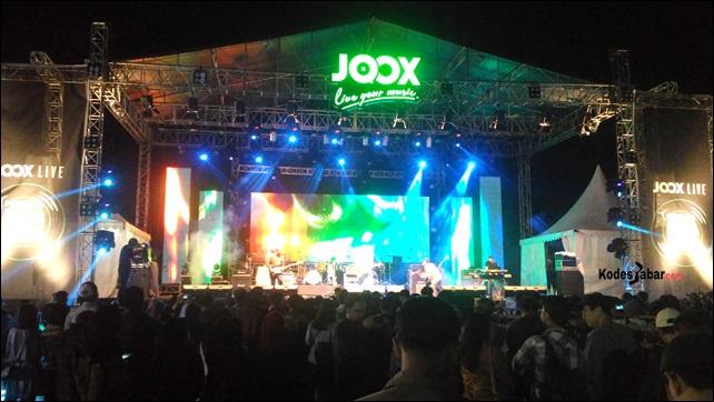 Lima Musisi Lokal Meriahkan JOOX Live Festival Hura Ceria di Bandung