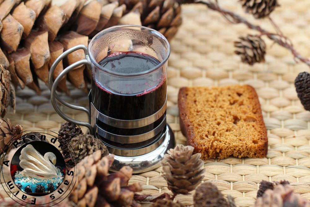 Vin chaud de Noël fruité