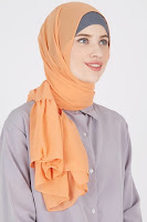 HijaBenka Damour 049 Peach ANDHIMIND