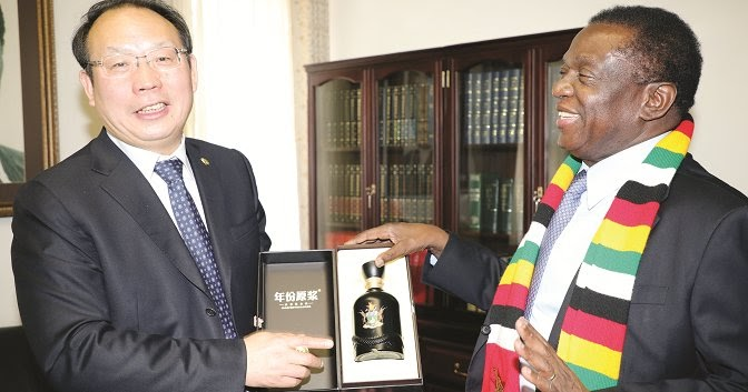 ED MEETS CHINESE DELEGATION