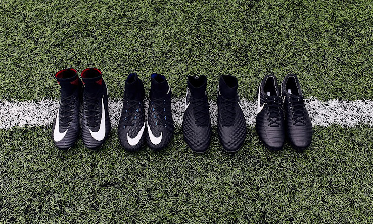 Full Nike 2017-2018 Pitch Dark Pack Football Boots Collection ... 55689a338