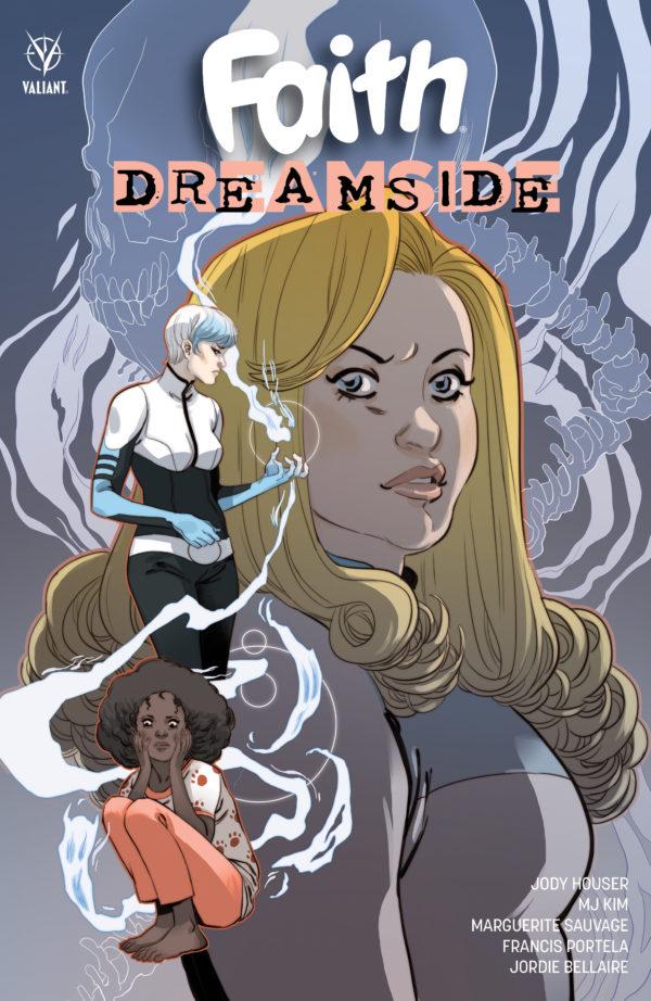 Faith Dreamside de J.Houser, M.Sauvage, MJ.Kim et Francis Portela aux éditions Bliss Comics