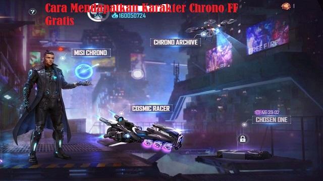 Cara Mendapatkan Karakter Chrono FF Gratis