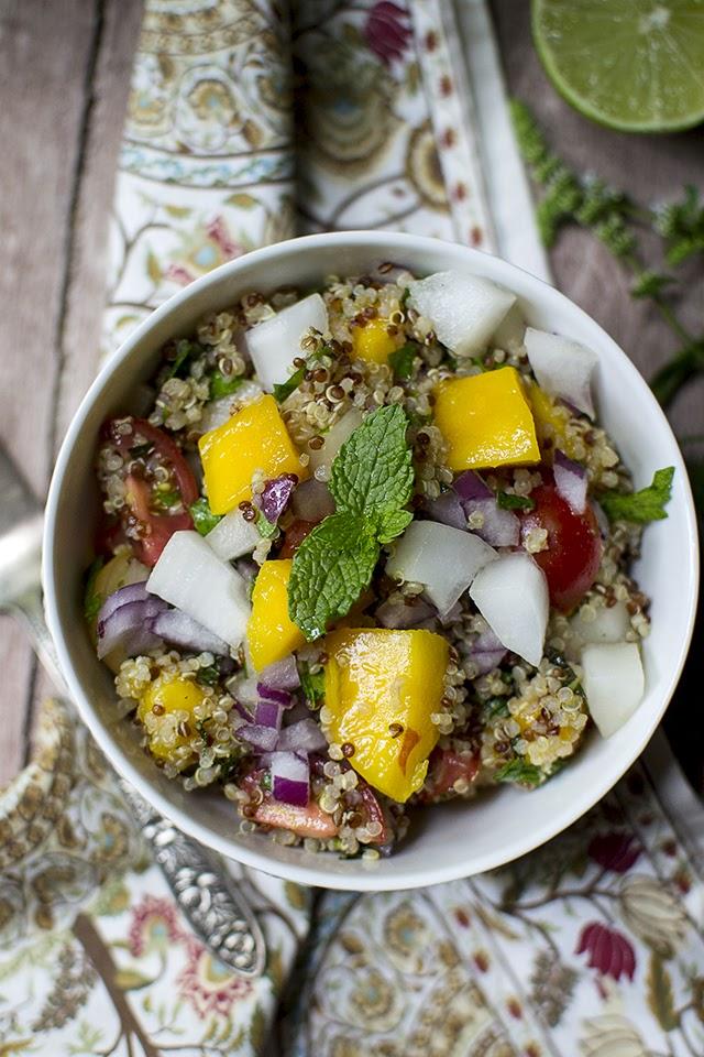 Senegalese Quinoa Mango Salad